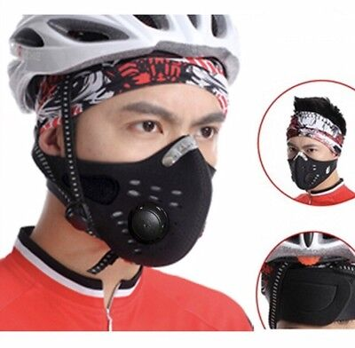 Cycling Mask - Dust proof Mask - Activated Carbon Filtration Mesh Cover Filter