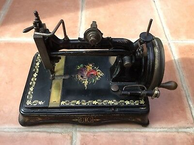 Vintage Elias Howe Jr Sewing Machine