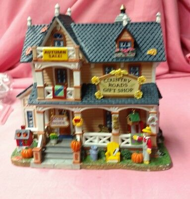 """Lemax Harvest Crossing collection. """"Country Roads Gift Shop """""""