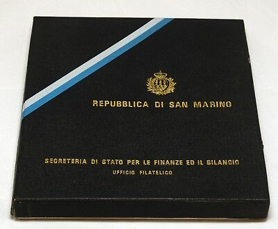 San Marino Souvenir Album Stamps Postage Collection 1974 Philatelic Book Mint NH