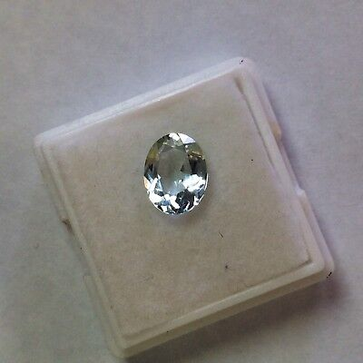 1.80ct Aquamarine Oval Loose Gemstone All Natural And Untreated