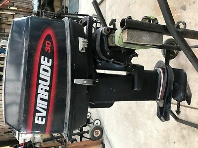 25HP Evinrude outboard 1996 modal in perfect running condition & ready for use.