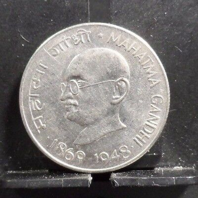 Circulated 1948 50 Paise India Coin (112117)2.....free Shipping!!!!!