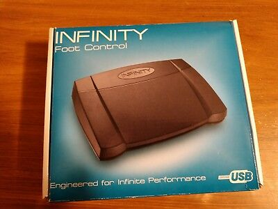 Infinity IN-USB-2 INUSB2 PC Computer Transcription Foot Pedal