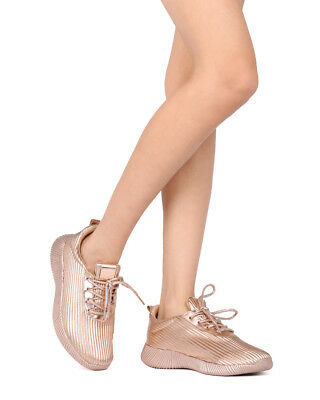 51c1113646e5 NEW WOMEN WILD Diva Darla-02 Lace Up Textured Low Top Jogger Sneaker ...