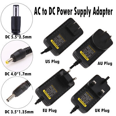 5.5*2.5mm 4.0*1.7mm 3.5*1.35mm 5V AC to DC Power Supply Wall Adapter Converter