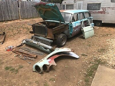 EH HOLDEN STATION WAGON RUNS AND GOES EJ COLLECTOR CLASSIC RAT ROD May trade