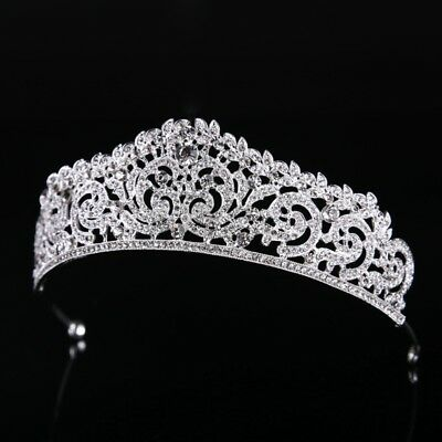 Wedding Bridal Crown Headband Tiara Jewelry Pageant Party Prom Hair Accessories