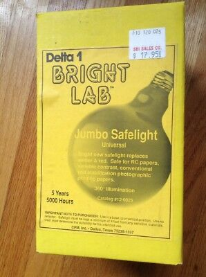 Bright Lab Delta 1 Jumbo Safelight - 12-0025