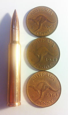 NEW 2 OZ 30.06 Caliber 999.0 Pure Australian Copper Bullet