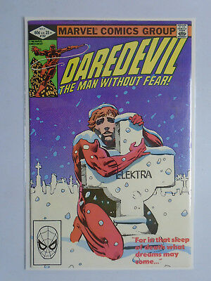 """Daredevil (1st Series) #182, Newsstand Edition 6.0 (1982) """"She's Alive"""""""