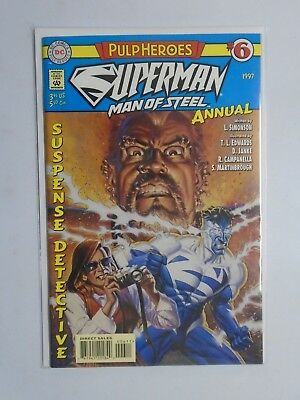 Superman The Man of Steel (1991) Annual #6 - 8.0 VF - 1997