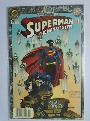 Superman The Man of Steel (1991) Annual #3 - 8.0 VF - 1994