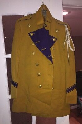 Vintage 1950s Marching Band Full Uniform Major Costume Ford City PA Pennsylvania