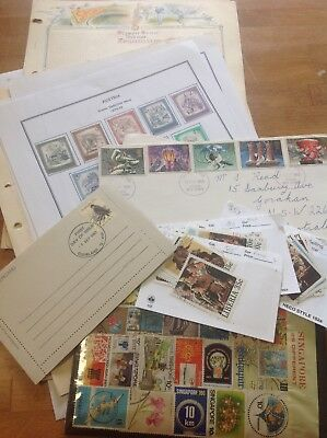 World mixed stamps including covers- large envelope full