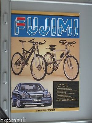 FUJIMI CATALOG CATALOGUE 1997 contains model cars and wheel rim tire tyre sets