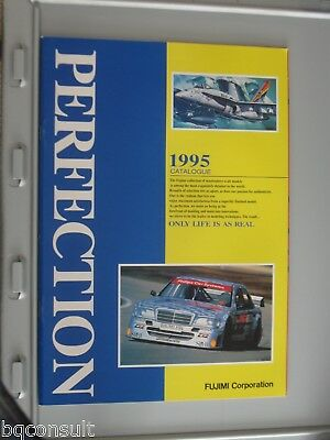 FUJIMI CATALOG CATALOGUE 1995 contains model cars and wheel rim tire tyre sets