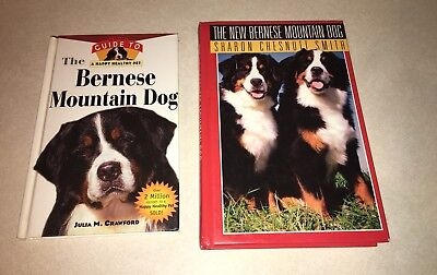 Lot Of 2! Bernese Mountain Dog Books Crawford Smith