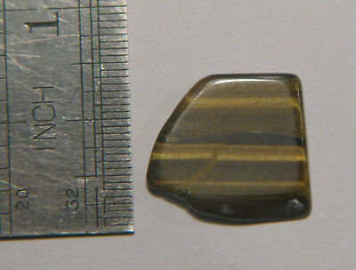 7 Cts NATURAL TIGER'S EYE Pendant Size Loose Gemstone