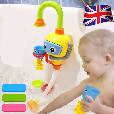 Baby Shower Bath Toys Shower Faucet Bathing Water Spraying Tool Pop AU