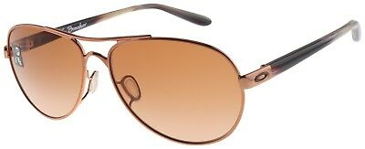 Oakley Women's Tie Breaker Sunglasses OO4108-08 Rose Gold | VR50 Brown Gradient