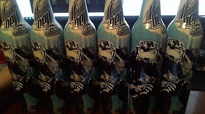 6 Halo 3 Master Chief Art Mountain Dew Game Fuel Unopened  Aluminum Bottle