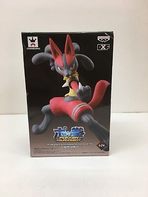 Pokemon DXF Pokken Tournament LUCARIO 2P Color Red Ver. Figure BANPRESTO JAPAN