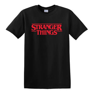 NEW STRANGER THINGS LOGO T-SHIRT! netflix tee