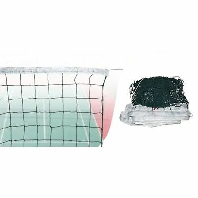 Volleyball Net Durable Rectangle Nylon w Steel Cable Outdoor Sports Accessories