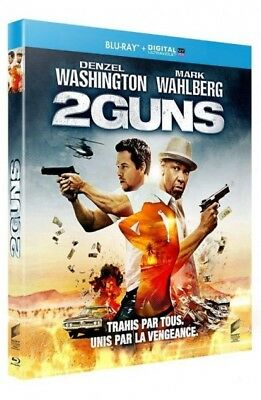 2 Guns (Denzel Washington, Mark Wahlberg) BLU-RAY NEUF SOUS BLISTER