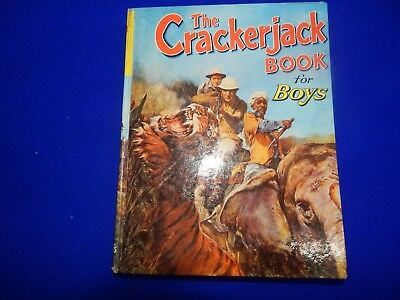 The Crackerjack Book For Boys 1950s