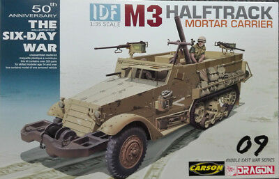 Dragon 3597 IDF M3 Halftrack Mortar Carrier 1:35 Bausatz, ohne Figuren