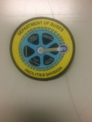 new york city transit authority. Facilities Division Patch