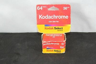 KODAK SELECT KODACHROME FILM 36 exposure 64 speed KR135-36 (expired 2001) SLIDE