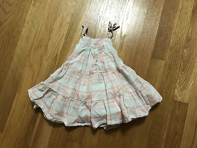 New BABY GAP plaid twill dress for Infant Baby Girl Size 6-12 Months 6-12M