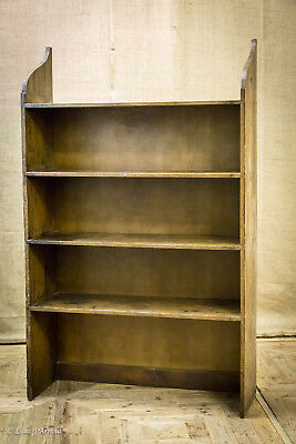19th Century Waxed Pine Shelves / Bookcase / Shelving Unit