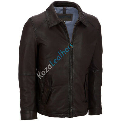 Brand New Men's Genuine Lambskin Leather Motorcycle Jacket Biker Jacket ML039