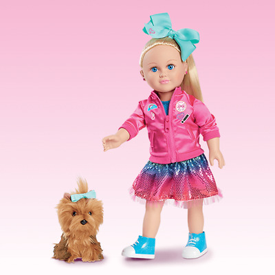 Jojo Siwa My Life As 18 inch Doll with plush dog * Exclusive NEW IN BOX