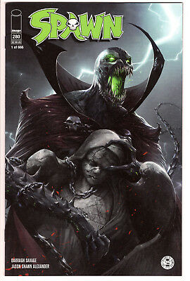 SPAWN #280 FRANCESCO MATTINA LTD 666 TRADE DRESS VARIANT McFARLANE VF 8.0
