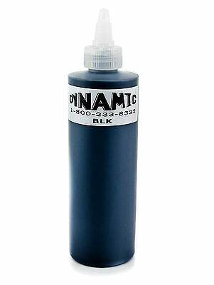 Dynamic Ink 240ml Black Tattoofarbe Tattoo Farbe Tätowierfarbe Tinte Color