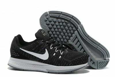 91656608d09c Nike Air Zoom Structure 19 Men s Running Training Shoes Black Grey 806580  001