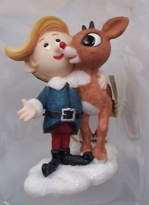 Hermey and Rudolph Reindeer Ornament Rudolph Island of Misfit Toys Rare