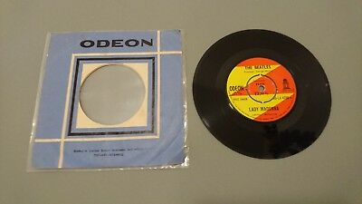 The Beatles – Lady Madonna / The Inner Light 7'' (Odeon) Turkish-Pressing!