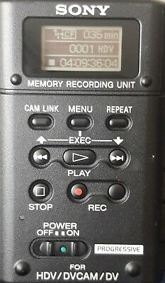 Sony HVR-MRC1 Memory Recording Unit - HVRA-CR1 WORKS GREAT