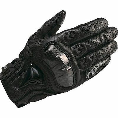 NEW RST390  black L Mens Motorcycle  Perforated leather Mesh Gloves RS Taichi