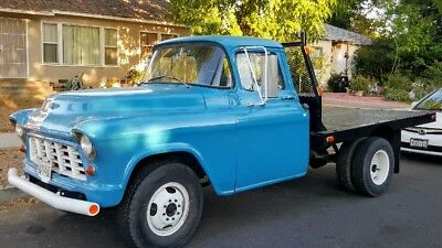 1955 Chevrolet Other Pickups  1955 CHEVY 3/4 TON FLATBED