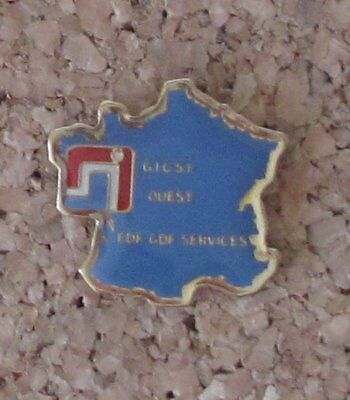 Pin's EDF GDF Formation GIC Ouest