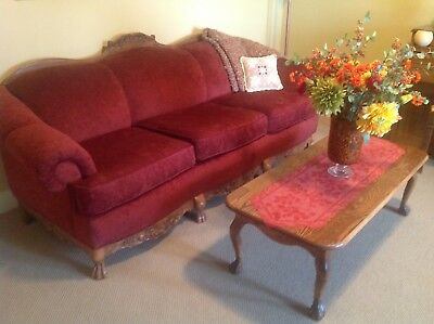 Formal living room set. Sofa, 2 chairs, coffee and end table.