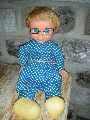 Vintage 1967 Mrs Beasley Talking Doll by Mattel Family Affair Pullstring