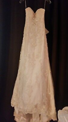 EMMA WEDDING DRESS BY MAGGIE SOTERRO, NEW with TAGS, Size 0